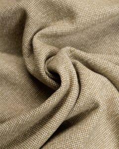 Wool Blend Tweed Fabric - Camel