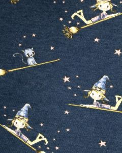 Fleece Sweatshirt Fabric - The Little Witch