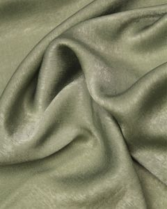 Antique Satin Fabric - Sage