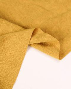 Stonewashed Linen Fabric - Mustard