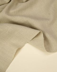 Stonewashed Linen Fabric - Oatmeal