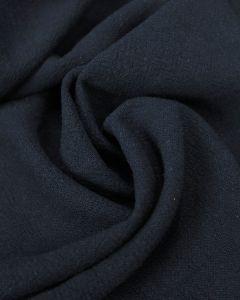 Stonewashed Linen Fabric - Navy