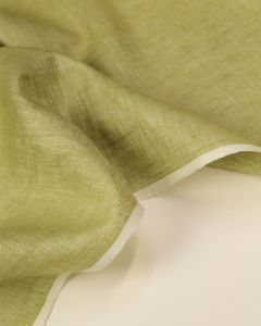 Yarn Dyed Linen Fabric - Pistachio