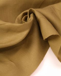 Pure Linen Fabric - Cumin