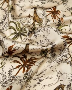 Polyester Twill Fabric - Safari