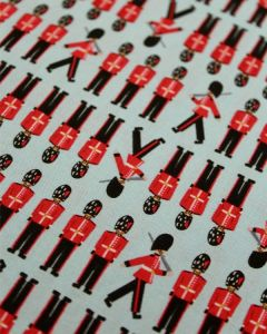 Patchwork Cotton Fabric - Marching Guards