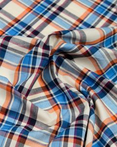 Cotton Madras Fabric - Assam