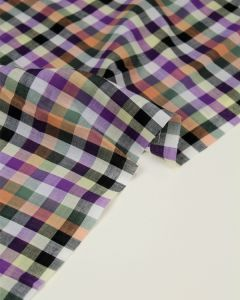 Cotton Lawn Fabric - Bramble Check