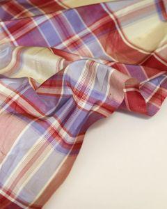 Silk Taffeta Fabric - Clover Club