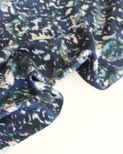 Viscose Twill Fabric - Cusco Petrol