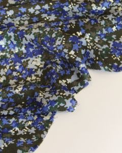 Viscose Dobby Fabric - Moonlight Floral