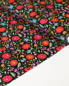 Patchwork Cotton Fabric - Maya - Frida Floral