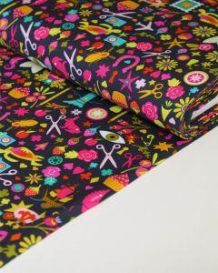 Patchwork Cotton Fabric - Alison Glass - Handiwork Decoupage