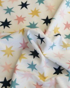 Cotton Jersey Fabric - Vega Star