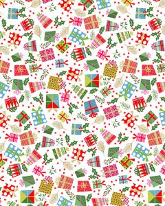 Patchwork Cotton Fabric - Under The Tree