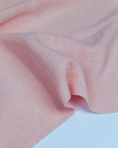 Stonewashed Linen Fabric - Mallow