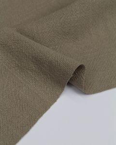 REMNANT Porcini Stonewashed Linen Fabric - 150cm x 130cm