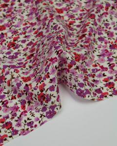 Viscose & Linen Blend Fabric - Pemberley Garden
