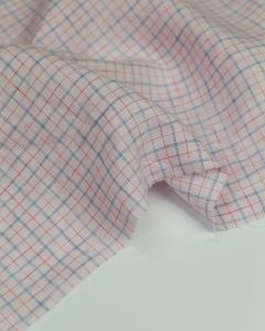 Pure Linen Fabric - Parfait Check