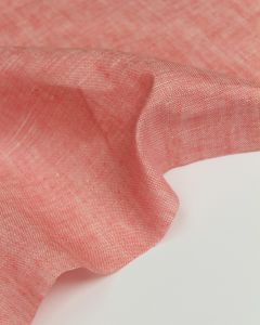 Yarn Dyed Linen Fabric - Pomelo