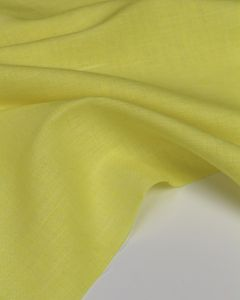 Yarn Dyed Linen Fabric - Limoncello