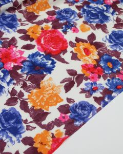 Viscose Challis Fabric - Fresco Floral