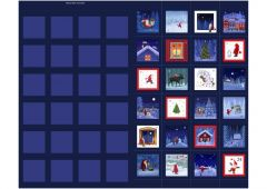 Christmas Advent Panel - Keep Believing - Tomten & Friends