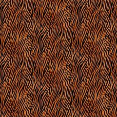 Patchwork Cotton Fabric - Around the World - Tiger