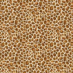 Patchwork Cotton Fabric - Around the World - Giraffe