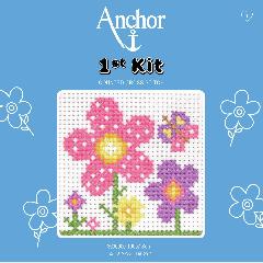 Anchor 1st Kit - Cross Stitch - Sarah Flowers