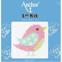 Anchor 1st Kit - Cross Stitch - Bird