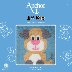 Anchor 1st Kit - Tapestry - Amber Puppy
