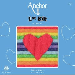Anchor 1st Kit - Long Stitch - Rae Heart