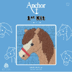 Anchor 1st Kit - Long Stitch - Dylan Horse
