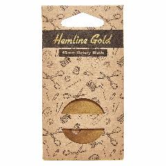 Hemline Gold -  Rotary Blade 45mm