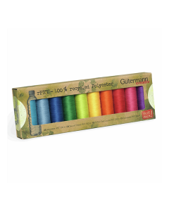 Gutermann Recycled Thread Set - Rainbow