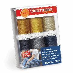Gutermann Thread Set - Denim