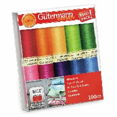 Gutermann Sew-All Thread Set - Rainbow Brights