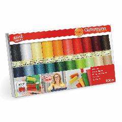 Gutermann Sew-All Thread Set - 20 x 100m Assorted