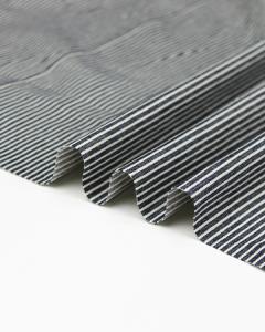 8oz Denim Fabric - Hickory Stripe
