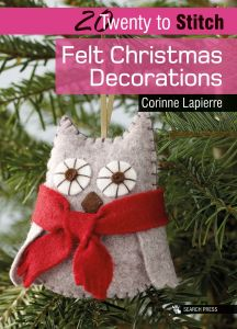 20 to Stitch - Felt Christmas Decorations - Paperback