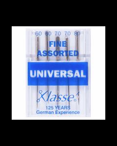 Klasse Machine Needles - Universal - Assorted Fine