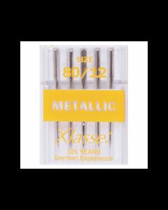 Klasse Machine Needles - Metallic - 80/12