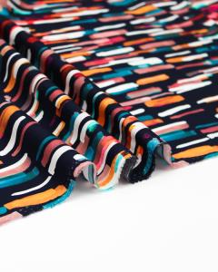 Ace Cotton Lawn Fabric - Flourish - Watercolour Dash