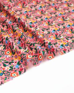 Ace Cotton Lawn Fabric - Kaleidoscope - Confetti Garden Pink