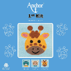 Anchor 1st Kit - Tapestry - Curious Giraffe
