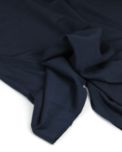 Bamboo French Terry Fabric - Navy