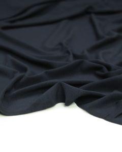 Bamboo Jersey Fabric - Navy