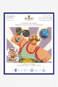 DMC Cross Stitch Kit - Strong Man