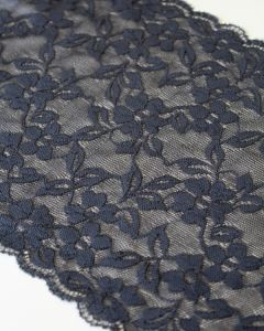 Stretch Lace Trim - 160mm - Anthracite